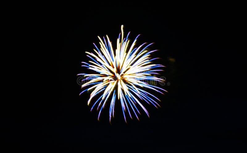 Vierde Vuurwerk van Juli stock fotografie