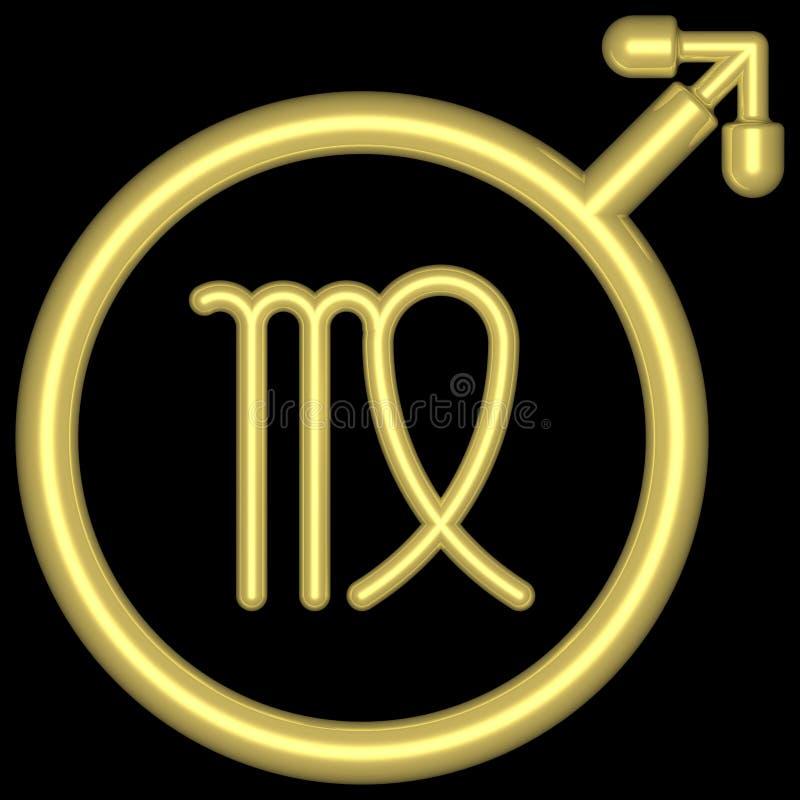 Download Vierge 002 de zodiaque illustration stock. Illustration du féminin - 728116