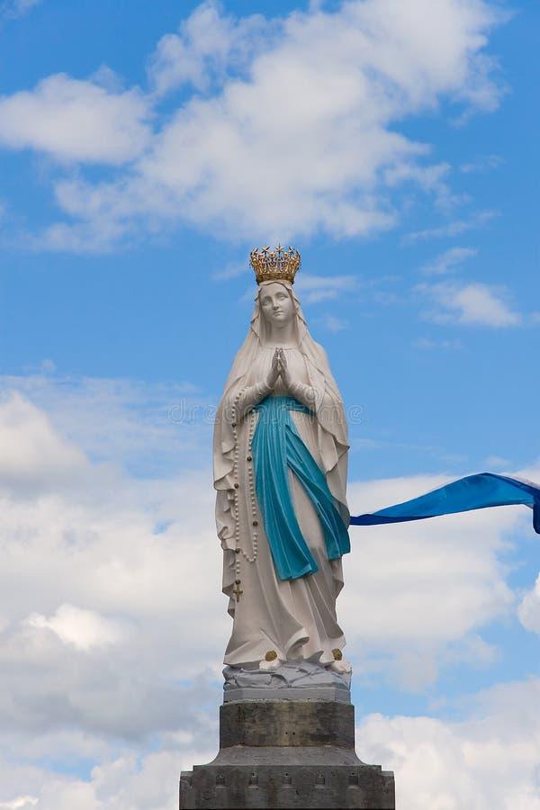 Vierge de Lourdes images libres de droits