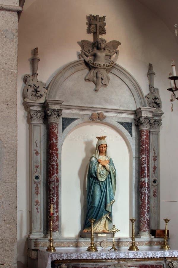 Vierge Marie photo stock