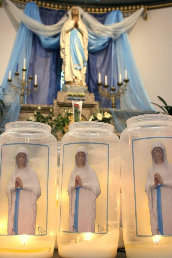 Download Vierge Marie image stock. Image du brûlure, calme, admettez - 4350661