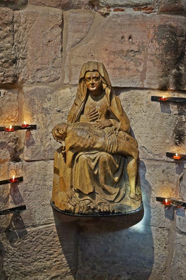 Vierge Marie avec Jésus photographie stock