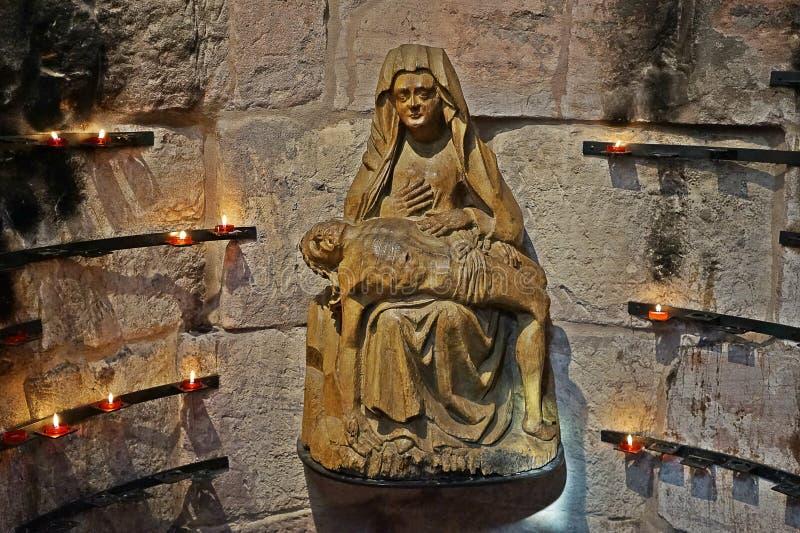 Vierge Marie avec Jésus images libres de droits