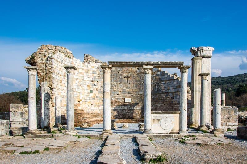 Vierge Mary Church Ephesus images stock