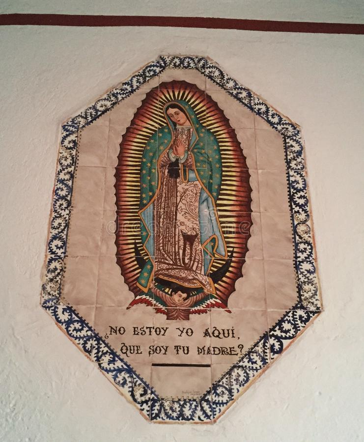 Vierge Mexique images stock