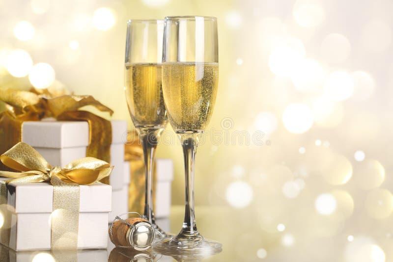 Viering het nieuwe jaar stock foto's