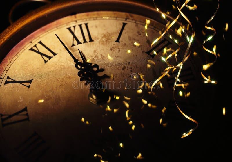 Viering het nieuwe jaar royalty-vrije stock foto