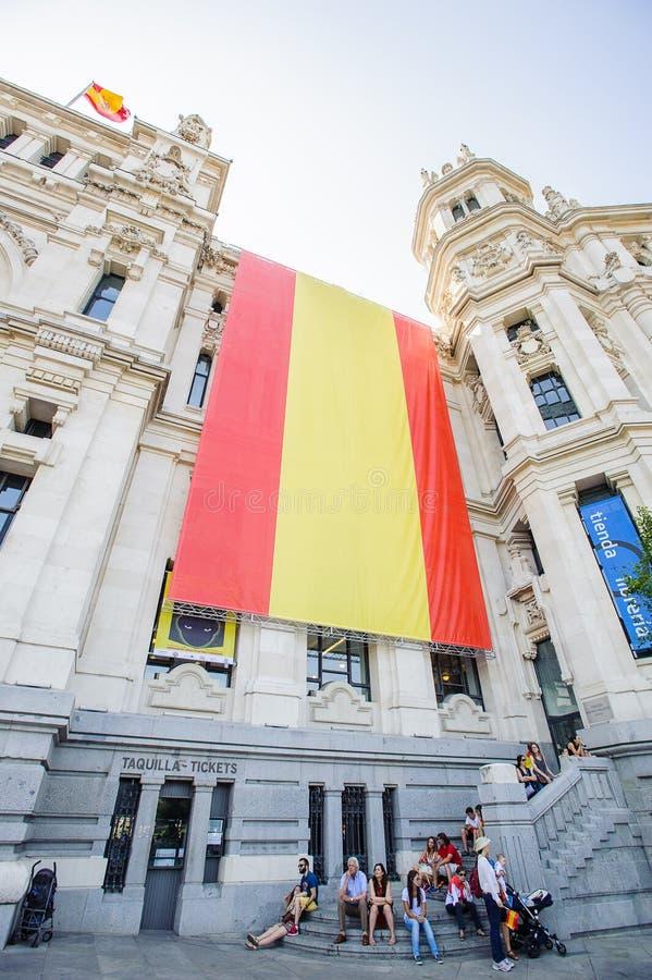 Viering van de kroning van de Nieuwe Koning van Spanje Felipe IV stock fotografie