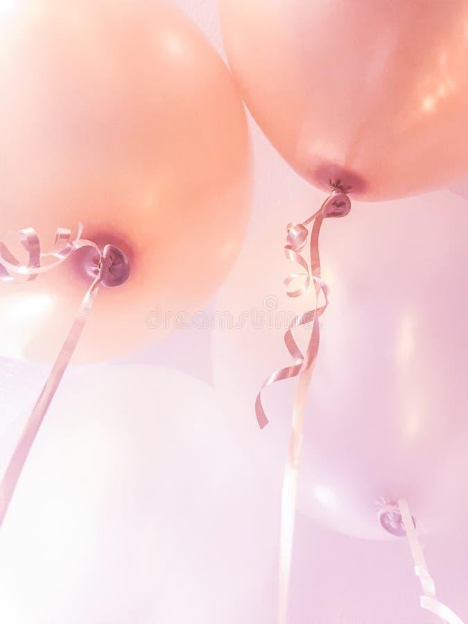 Vieringsballons stock foto's