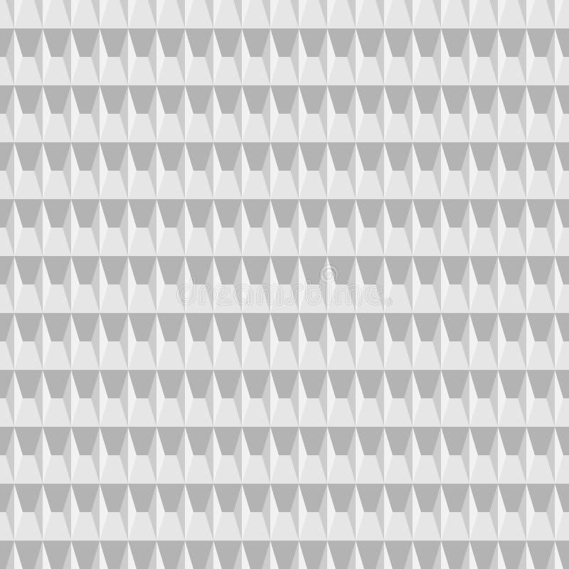 Vierkant geometrisch naadloos patroon Grafische manier Vector illustratie Basisillustratie voor advertenties! plaats een beeld va vector illustratie