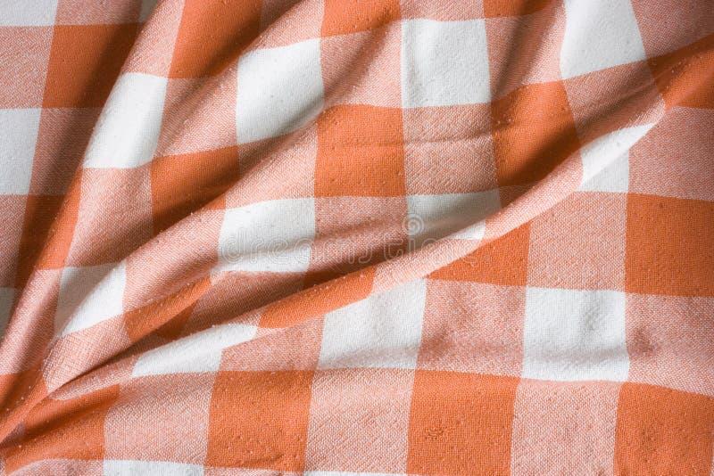 vierkant het achtergrond van het Tafelkleed stock foto