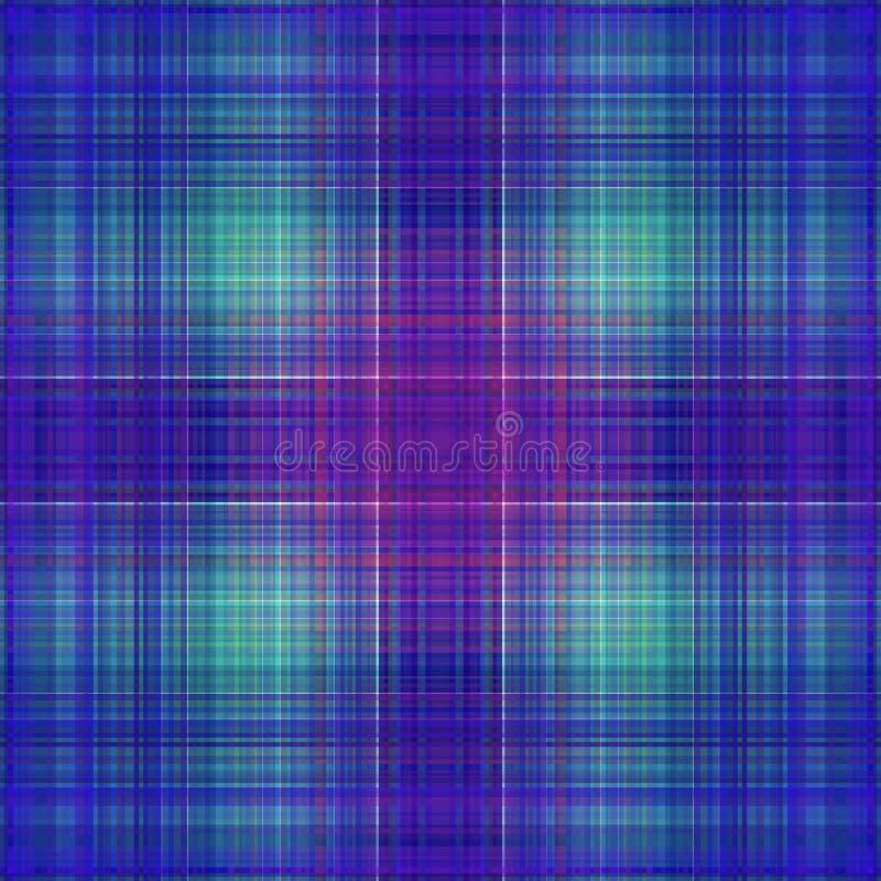 Vierkant hypnotic patroon, geometrische illusie Abstract behang vector illustratie