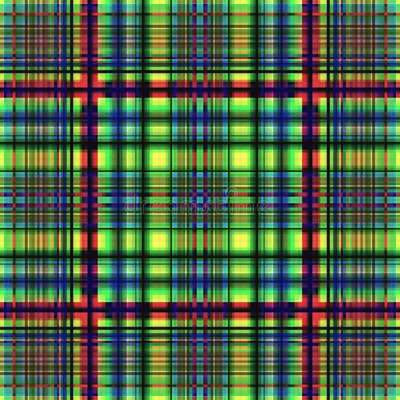 Vierkant hypnotic patroon, geometrische illusie Abstracte digitaal vector illustratie