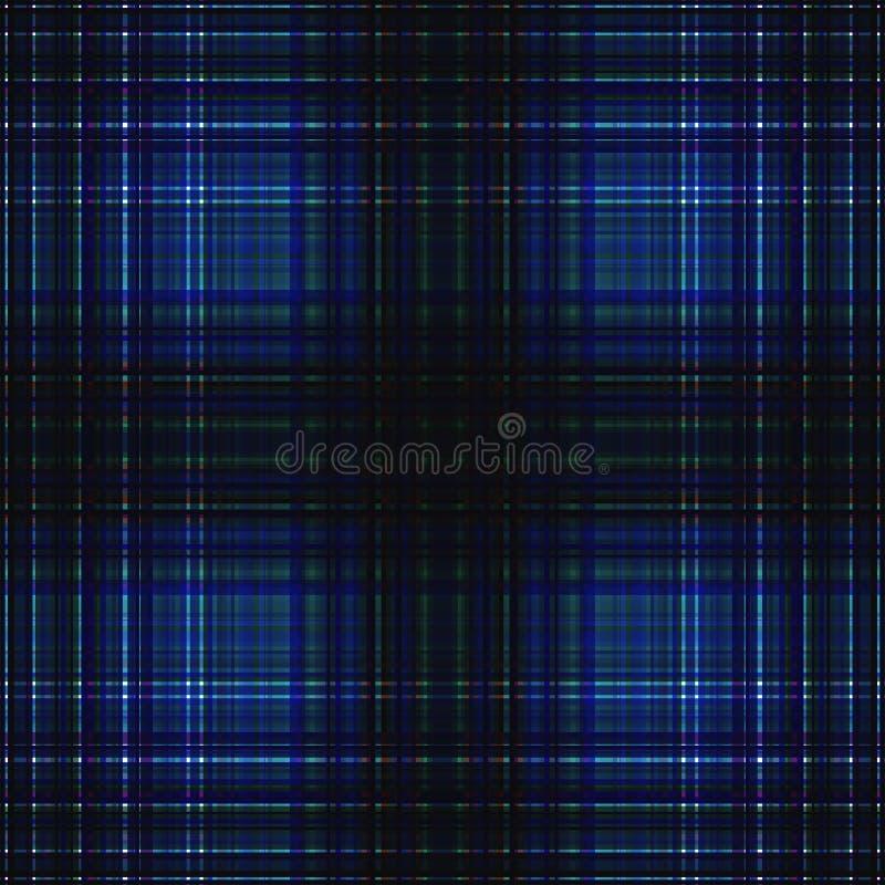 Vierkant hypnotic patroon, geometrische illusie abstracte herhaald stock illustratie