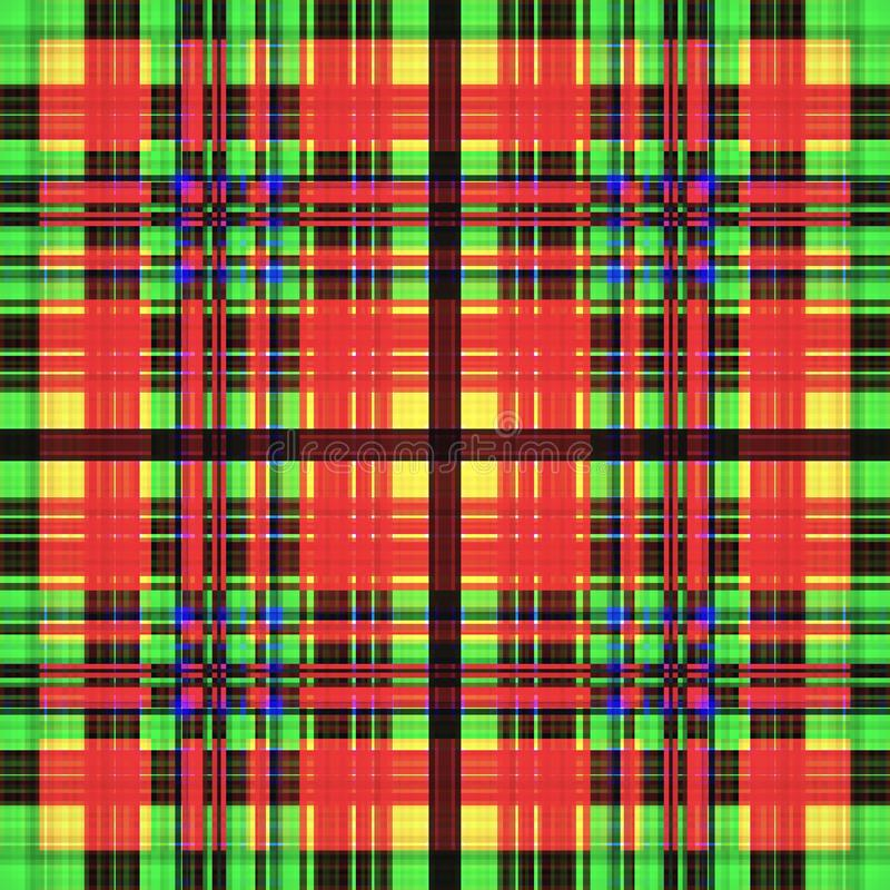 Vierkant hypnotic patroon, geometrische illusie herhaal caleidoscoop stock illustratie