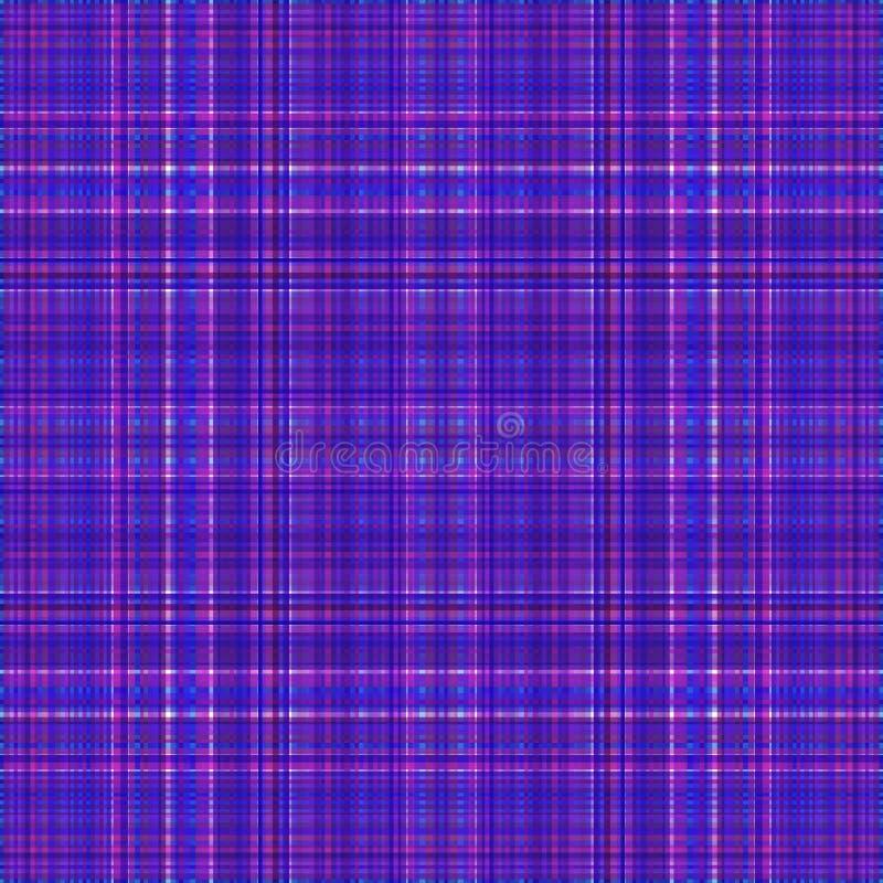 Vierkant hypnotic patroon, geometrische illusie herhaald decor stock illustratie