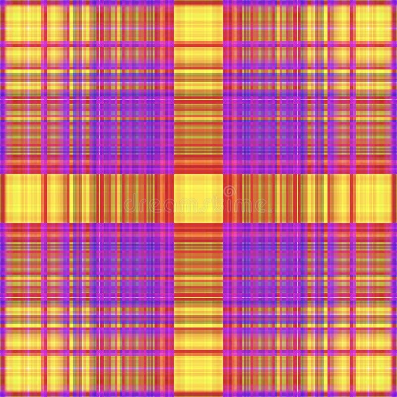 Vierkant hypnotic patroon, geometrische illusie Tegelontwerp stock illustratie