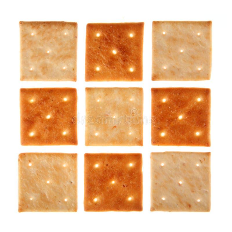 Vierkant koekje royalty-vrije stock foto