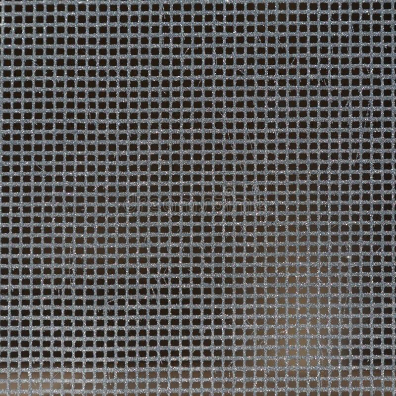 Vierkant net met cellen royalty-vrije stock afbeelding