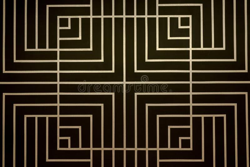 Vierkant patroon royalty-vrije stock afbeelding