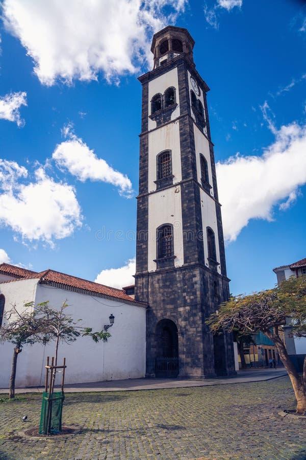 Vierkant in Santa Cruz, Tenerife, Spanje stock foto's