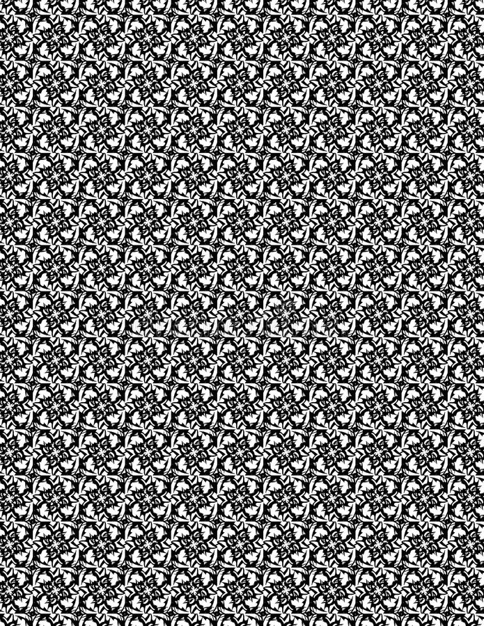 Vierkant stammenpatroon stock afbeelding