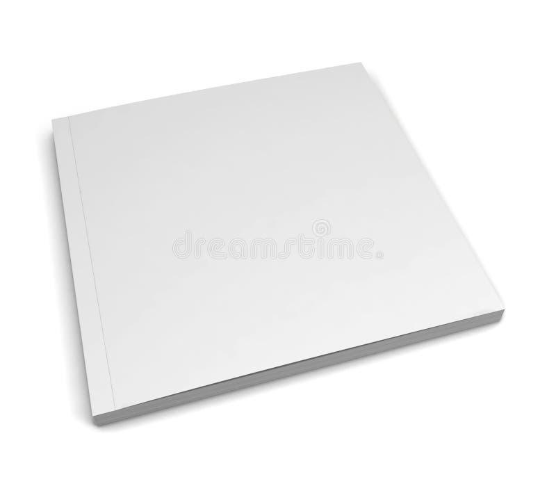 Vierkant tijdschrift vector illustratie