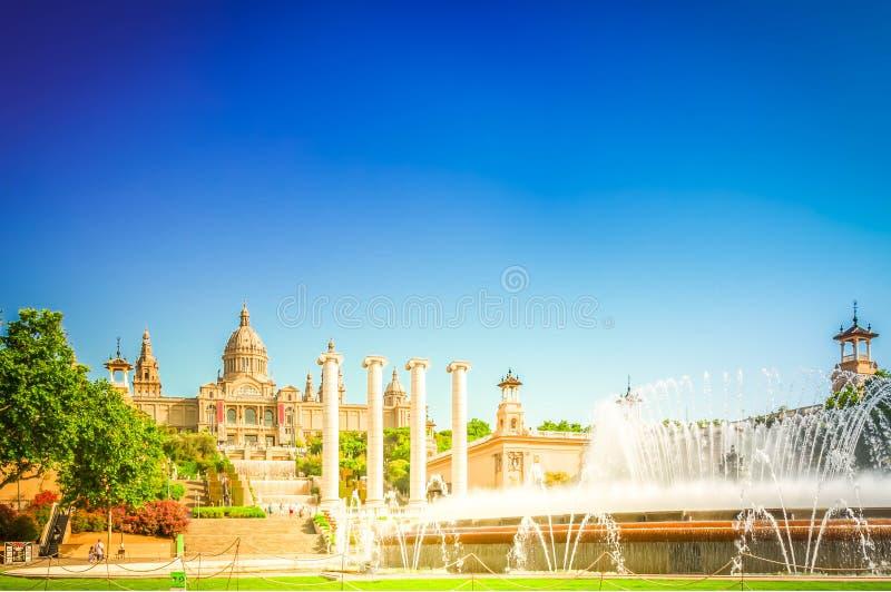 Vierkant van Spanje, Barcelona royalty-vrije stock afbeelding