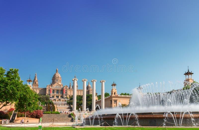 Vierkant van Spanje, Barcelona stock fotografie