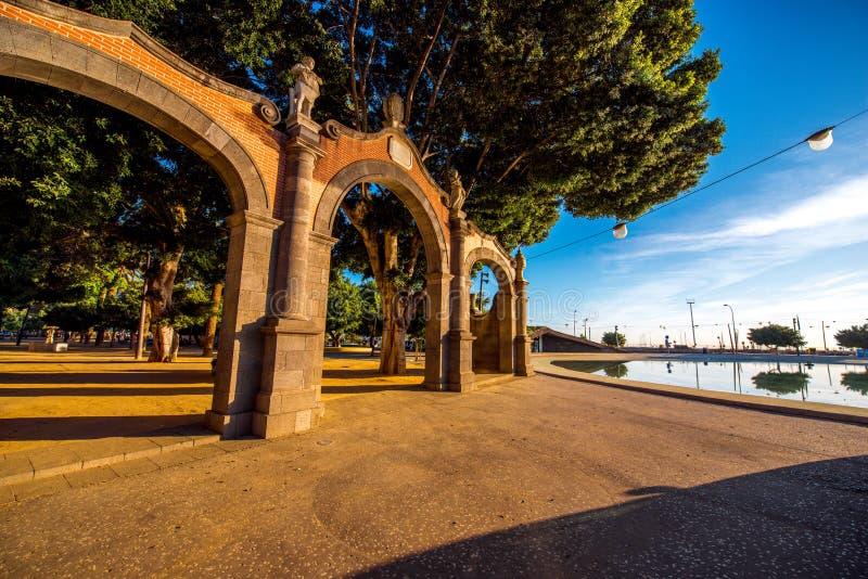 Vierkant van Spanje in Santa Cruz royalty-vrije stock foto