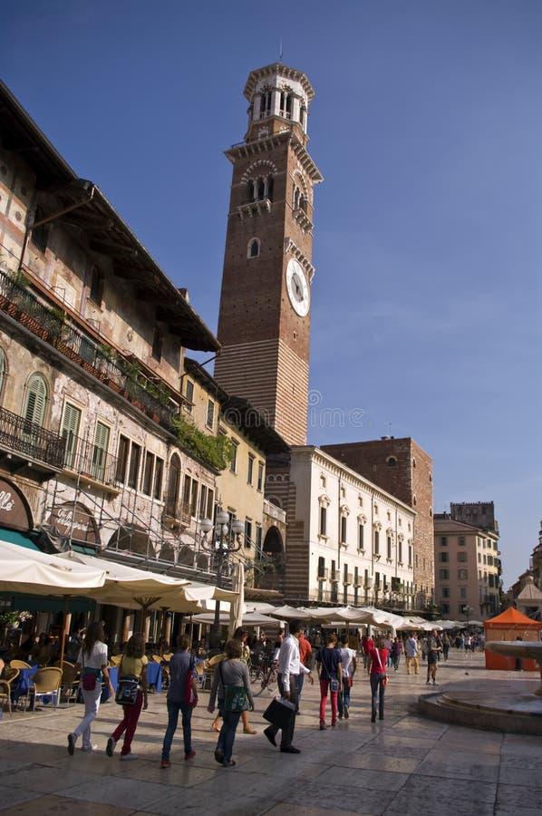 Vierkant van Verona stock foto