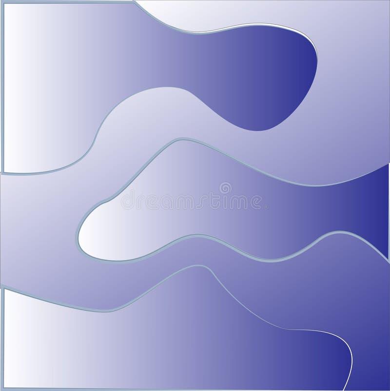 Vierkante Backround stock illustratie