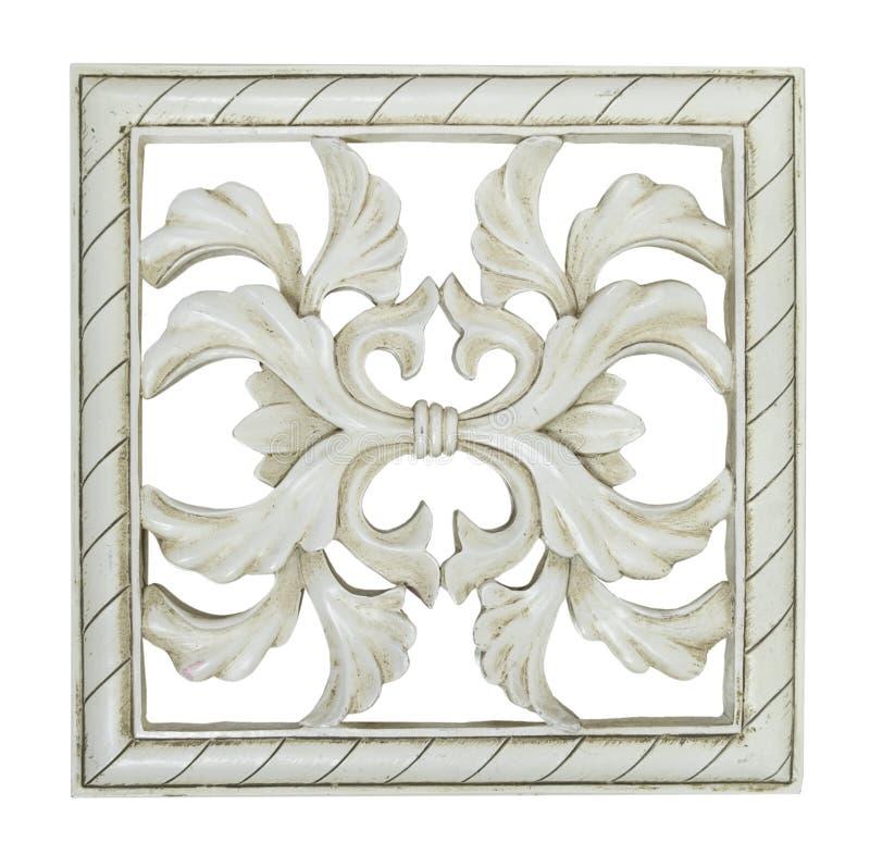 Vierkante Decoratieve Tegel stock foto's