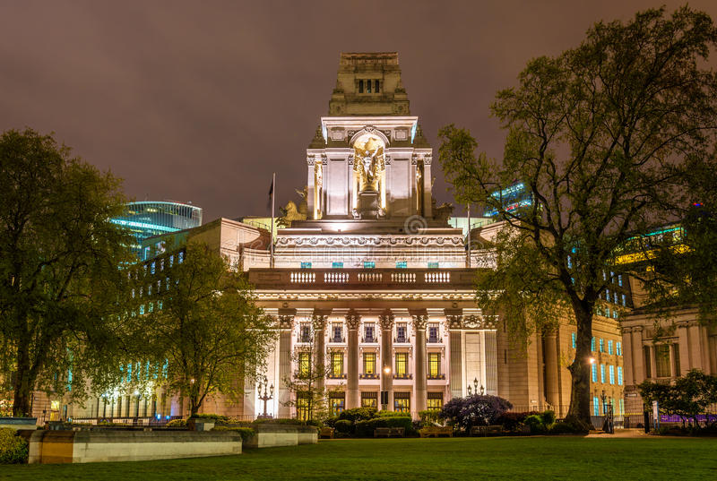 Vierkante Drievuldigheid tien, een historisch gebouw in Londen stock foto