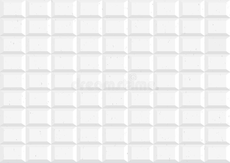 Vierkante geometrische abstracte textuurachtergrond vector illustratie