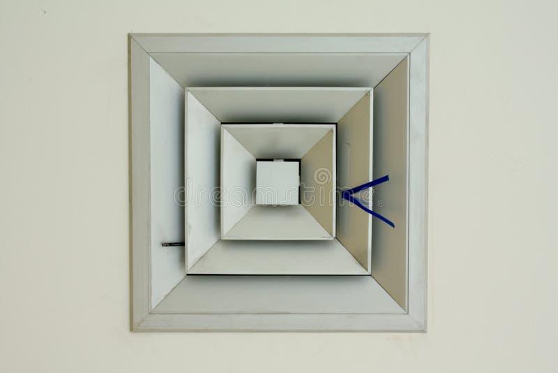 Vierkante luchtstroom stock afbeelding