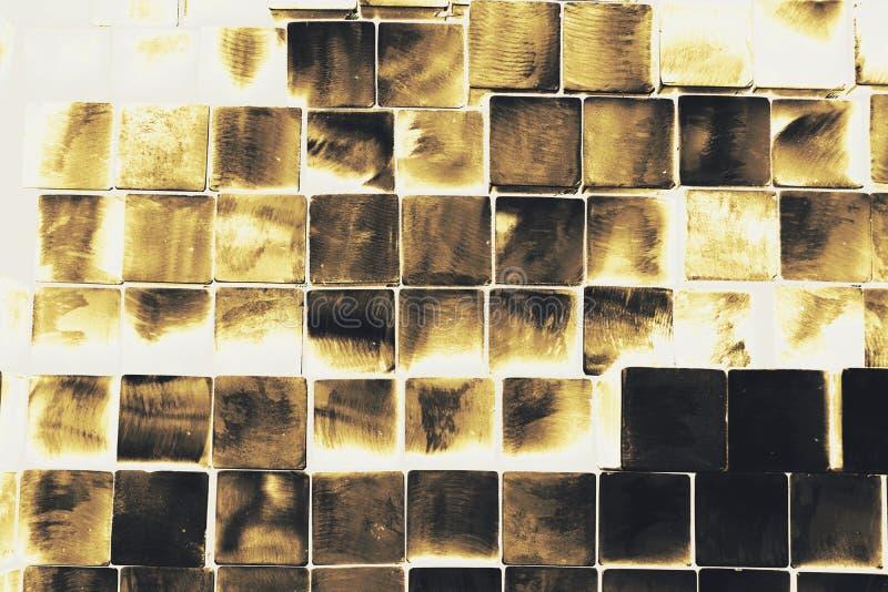 Vierkante metaalbuis royalty-vrije stock foto