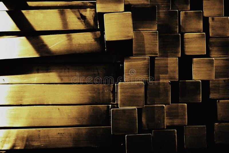 Vierkante metaalbuis stock afbeeldingen