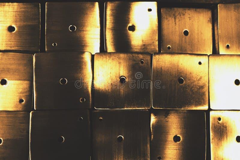 Vierkante metaalbuis royalty-vrije stock afbeelding