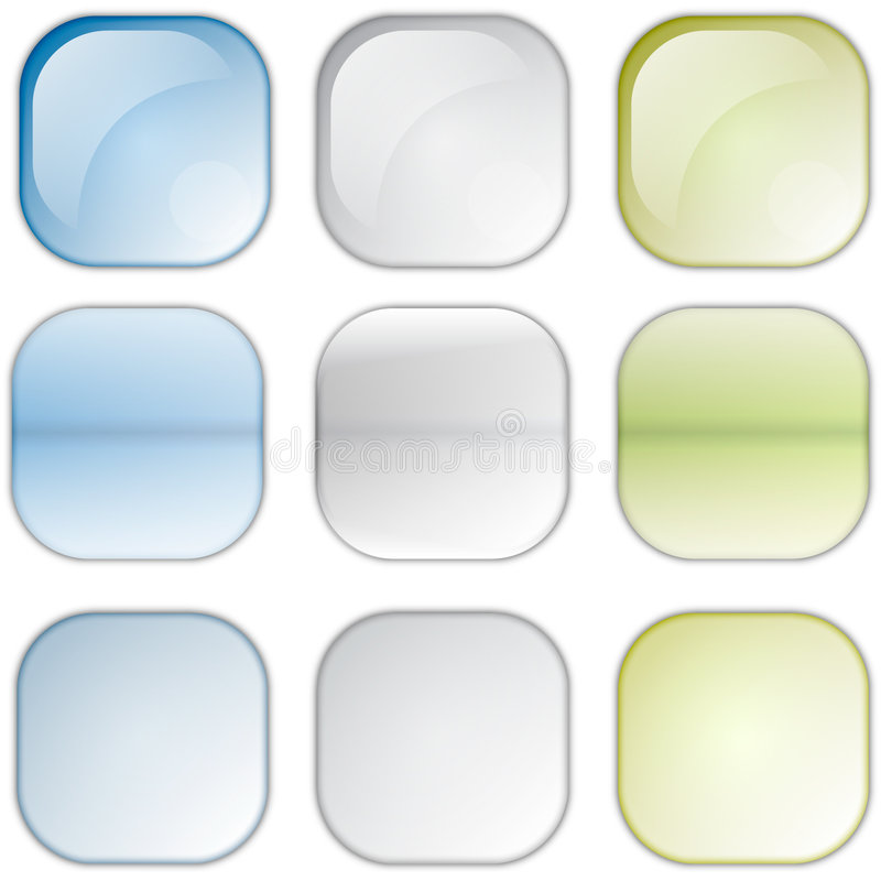 Vierkante pictogrammen