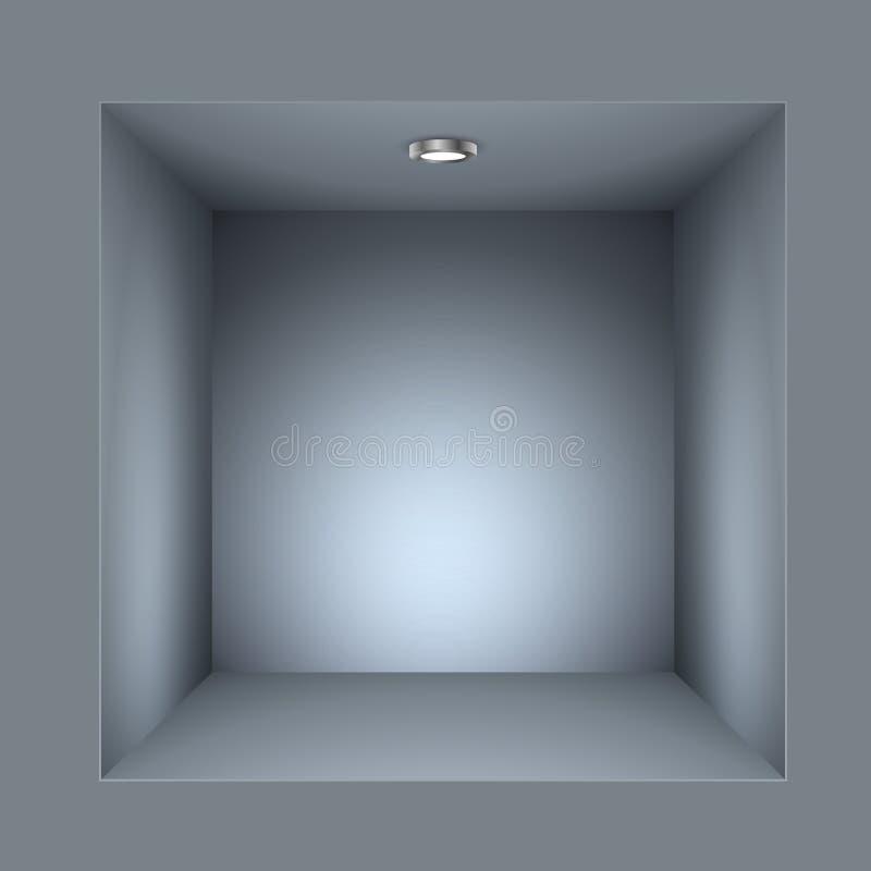 Vierkante plank royalty-vrije illustratie
