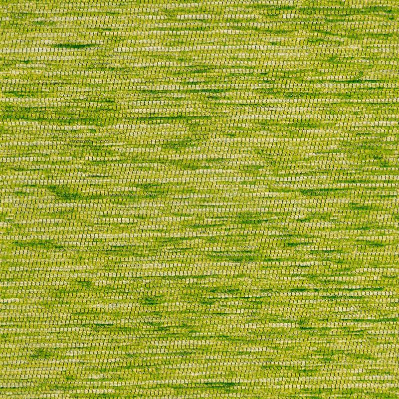 Vierkante stofferings naadloze textuur van synthetisch hard groen tapijt royalty-vrije stock foto's
