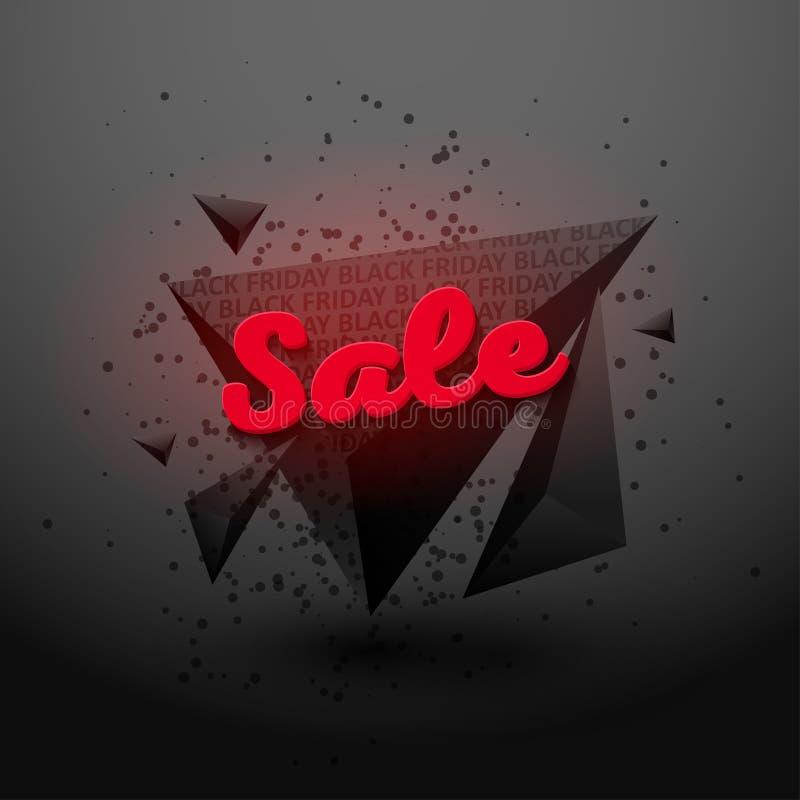 Viernes negro sale5 stock de ilustración