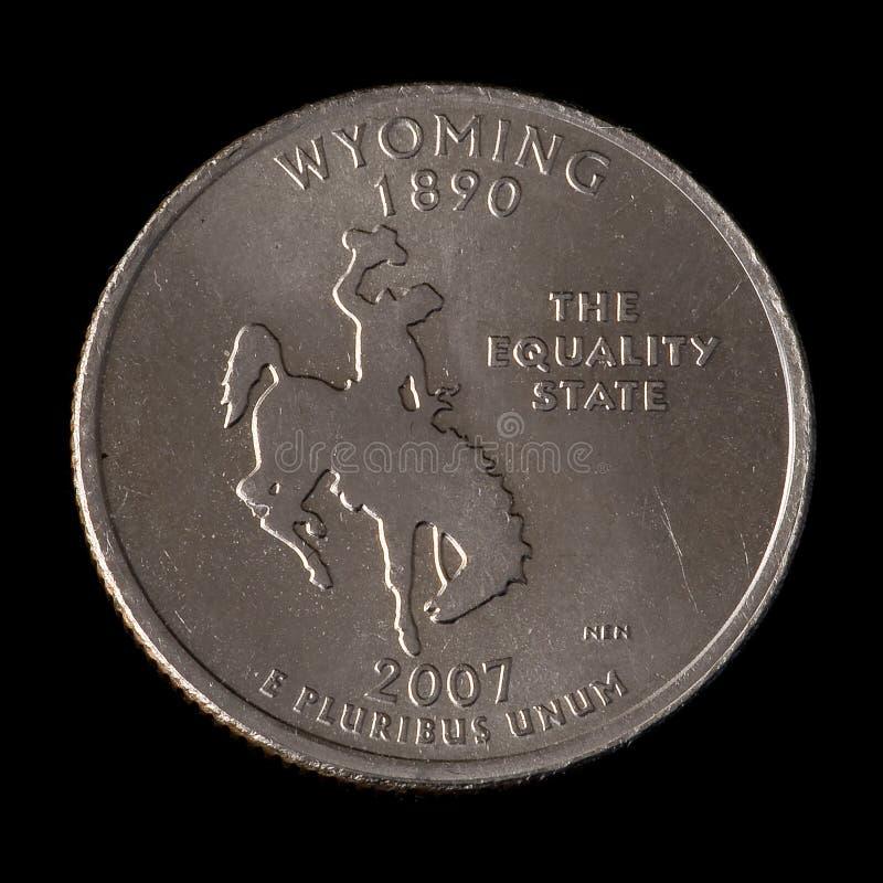 Vierteldollar von USA lizenzfreie stockfotos