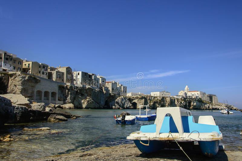 Vieste royalty free stock images