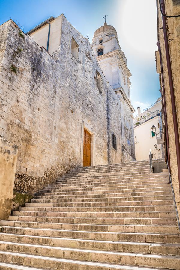 Vieste, Gargano Peninsula, Apulia region, Italy royalty free stock photo