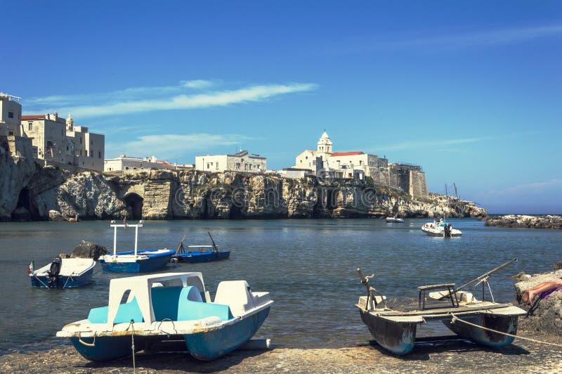 Vieste, Puglia imagem de stock royalty free