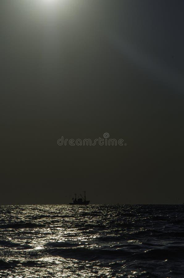 viet för nam för strandfartygdanang fiske arkivbilder