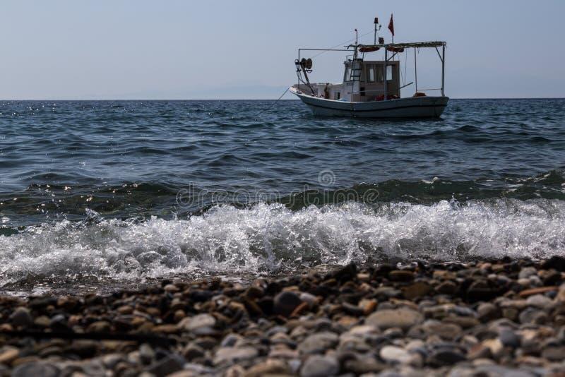 viet f?r nam f?r strandfartygdanang fiske fotografering för bildbyråer