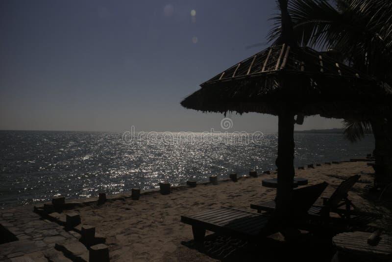 Viet nam Phan Thiet. A beach of phan thiet Viet royalty free stock image